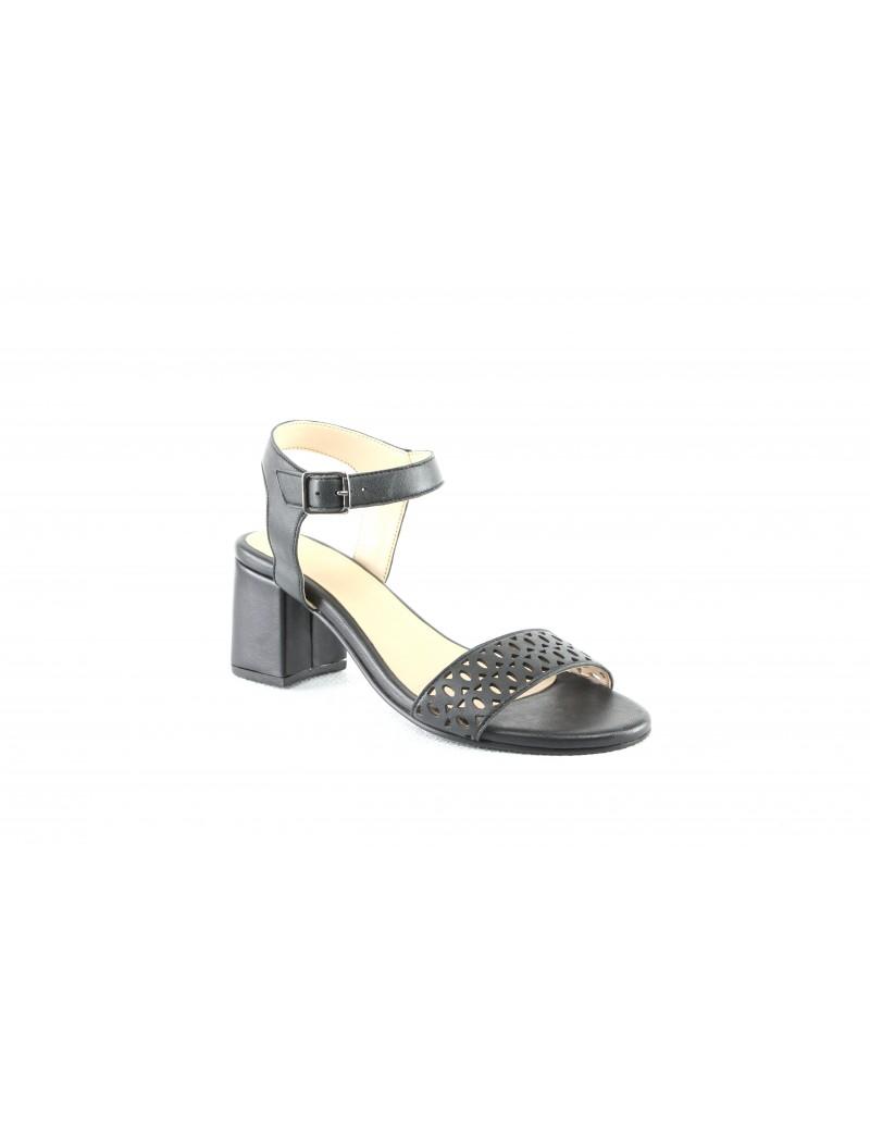 Sandale à talon-Sade
