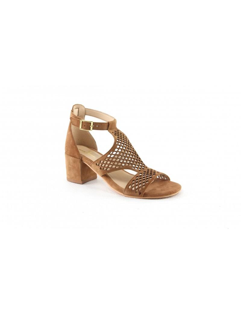Sandale à talon-Sabine
